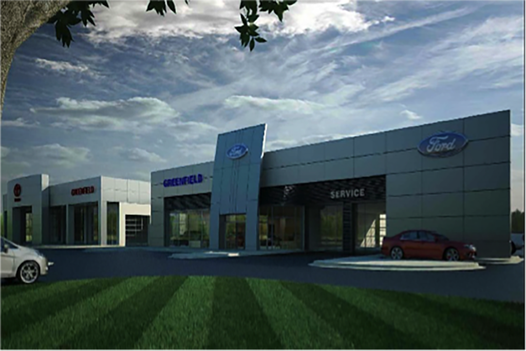 Toyota Of Greenfield >> Integrated Builders Toyota Ford Dealership Construction